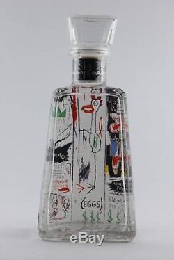 1800 Tequila Artist Series Jean-Michel Basquiat Quality Meats For Public Bottle
