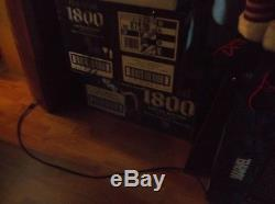 1800 Tequila Essential Artist Series 1 6 all of them AND RARE LIGHTED CASE WOW