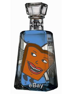 1800 Tequila Essential Artist Series 2 12 BOTTLE SET Shepard Fairey Empty
