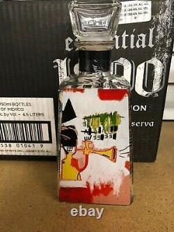 1800 Tequila Essential Artist Series Jean-Michel Basquiat 6 BOTTLE SET