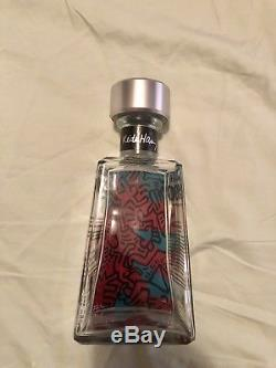 1800 Tequila Essential Artist Series Keith Haring BOTTLE Empty