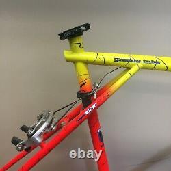 1992 20 GT Karakoram Tequila Sunrise Mountain Bike Frameset