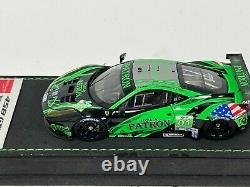 1/43 Make Up Eidolon Ferrari 458 GT2 2012 12 H Sebring Tequila Patron Car #01