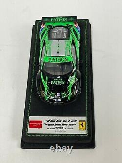 1/43 Make Up Eidolon Ferrari 458 GT2 2012 12 H Sebring Tequila Patron Car #02