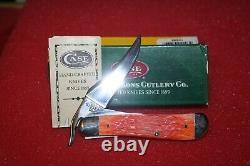 2002 CASE XX SFO TEQUILA SUNRISE BULLET SHIELD RUSSLOCK KNIFE Rare & Mint