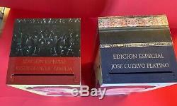 2011 Jose Cuervo Reserva de la Familia Frida & Diego Tequila Art Boxes Pre-Owned