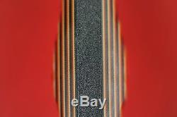 2014 Busse Combat ASHBM. 335 Black INFI Blade, Red Tequila Sunrise G10 Handle