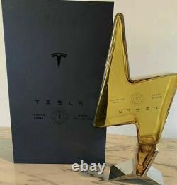 2021 NEW Tesla Tequila Bottle Official Model Elon Musk Free Ship
