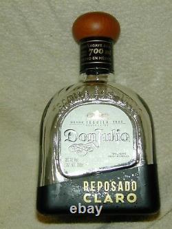 (2) Don Julio 700ml Reposado Claro Tequila Screw Top Rare Bottle