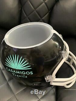 3 Casamigos Tequila Helmet Party Dip Containers