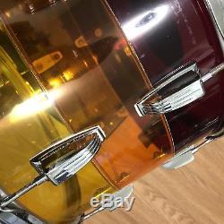 70s Vintage Ludwig 14 Tom Tequila Sunrise 10x14 Vistalite Tivoli