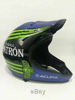Acura Tequila Patron Race Troy Lee Designs Helmet withGentex Talk Radio Attachment