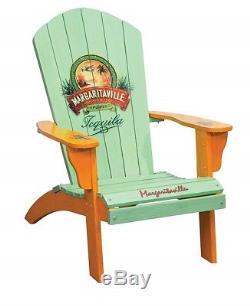 Adirondack Chair Margaritaville Tequila Deck Porch Yard Furniture Patio Sun Room