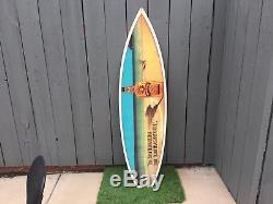 Advertisement Surfboard MARGARITAVILLE TEQUILA GOLD