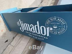 Advertisment El Jimadoi Tequila Liquor display rack Man Cave Bar Display 2147K