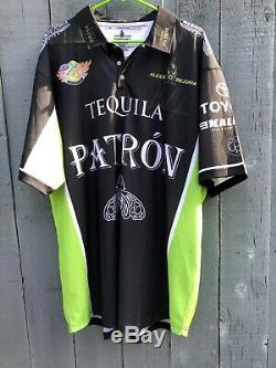 Alexis Dejoria NHRA Signed Patron Tequila Crew Shirt 2xl