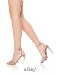 Aquazurra Tequila Sandal 105 Nude Size 36