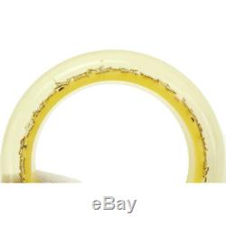 Auth LOUIS VUITTON Brasle Ankrusion GM Bangle Tequila Yellow M65624 90065060