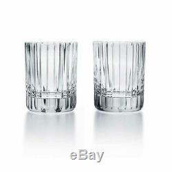 Baccarat Cystal Harmonie #5 Tumbler Pair BRAND NEW EXTRA SMALL SIZE TEQUILA