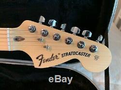 Baines Stratocaster Fender USA Neck Warmoth Quilt Top Tequila Sunrise EMG HSS