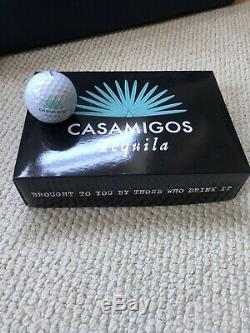 Brand New 1 Dozen Casamigos Tequila Golf Balls Pro V1x