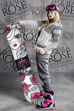Brand New! Women's Tequila Rose Snowboard, 155 cm, All Mountain