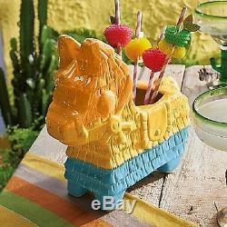 Burro Pinata Dia de los Muertos, Mexican Fiesta Tequila, Rum Fiesta Tiki Bowl