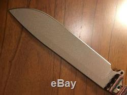 Busse Combat ASH2 Sage INFI Blade withTequila G10 Scales NewithUnused