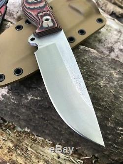 Busse Combat Competition Finish INFI SOB with Tequila Handle & Kydex Sheath