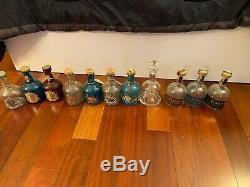 Cabo Wabo Bottles 11 different 750 ml Sammy Hagar Van Halen Tequila FREE SHIP