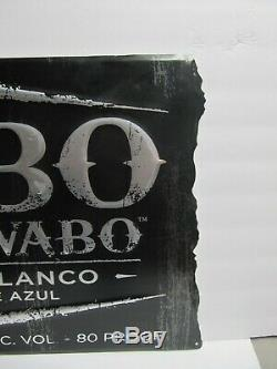 Cabo Wabo Metal Sign Tequila Blanca Sammy Hagar Cantina Nightclub Las Vegas