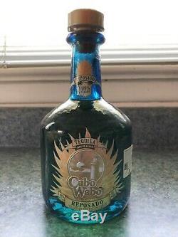 Cabo Wabo Tequila Bottle (full) Sammy Hagar