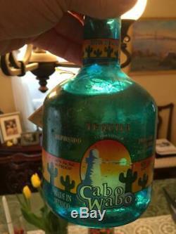 Cabo Wabo Tequila Sammy Hagar 750ML Bottle Sealed