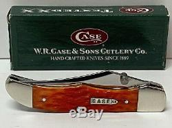 Case XX Tequila Sunrise MID Fold Hunter Bullet Pocket Clip Knife 61265lc 5508