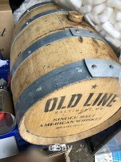 Charred 5 Gallon Oak Liquor Barrel Cask age rum tequila whiskey liquor