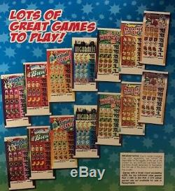 Choose Your Game-$1 5-Tab Pull-Tab Tickets 400 top/2 Dollar Bottom
