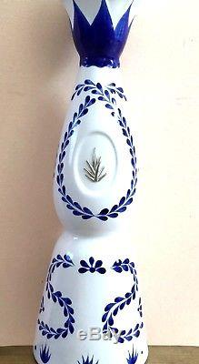 Clase Azul Premium Tequila Hand Painted Ceramic EMPTY Large Display Bottle 750ML