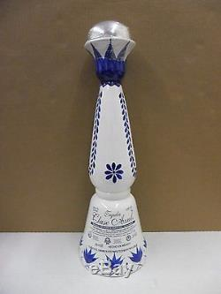 Clase Azul Premium Tequila Hand Painted Ceramic Empty 4 Liter Bar Display Bottle