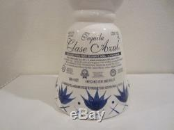 Clase Azul Premium Tequila Hand Painted Ceramic Empty 4 Liter Bar Display Bottle