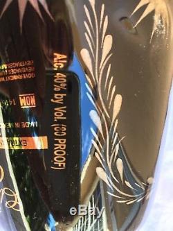 Clase Azul Ultra Anejo Tequila Black/Silver/Platinum/Gold Bottle (empty)