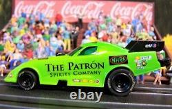 Custom Patron Tequila NHRA Funny Car AW 4 Gear ho slot car Goodyear black rims