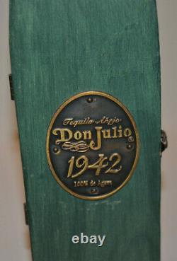 DON JULIO 1942 Tequila Añejo Vintage Wooden Green Coffin Box Only, No Bottle