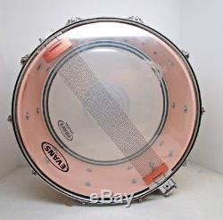 Ddrum Dios Maple 15x7 Snare drum in Tequila Sunrise Sparkle