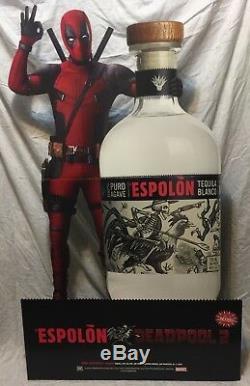 Deadpool 2 Espolon Tequila Blanco Cardboard Standee