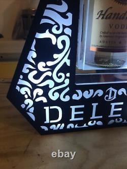 Deleon Tequila Led Bottle Display Man Cave Bar Back Light Up Glorifier