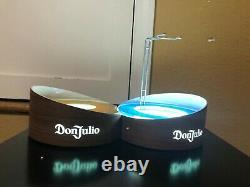 Don Julio Led 2 Bottle Lighted Glorifier Display Bar Man Cave Light Tequila