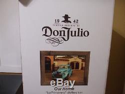 Don Julio Locking Display Case Cabinet Man Cave Tequila Decor Shelf