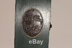Don Julio Rare 1942 Tequila Anejo Wooden Green Cedar Box Coffin with Bottle