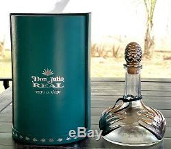 Don Julio Real Añejo Tequila Empty Bottle Box Jalisco Mexico Agave Vintage