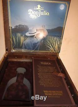 Don Julio Resposado Tequila wood Collectors' chest for Influencer Marketing